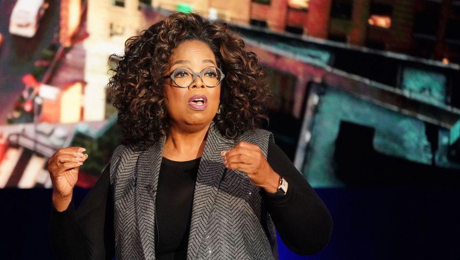 Oprah Winfrey während einer Aufnahme ihrer TV-Show
