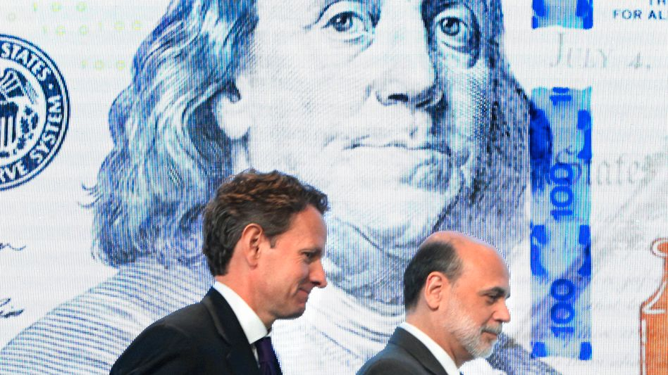 US Treasury Secretary Timothy Geithner and Fed Chairman Ben Bernanke both believe in a strong dollar.