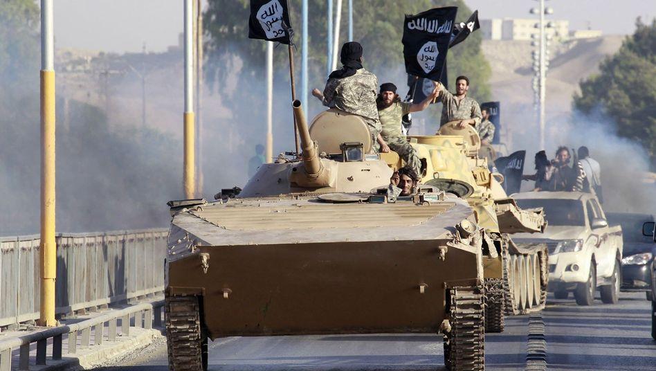 IS-Dschihadisten: Große Teile der Region um Rakka unter Kontrolle