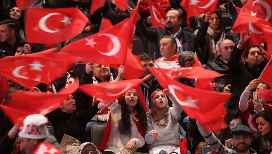 Pro-Erdogan-Anhänger in Deutschland