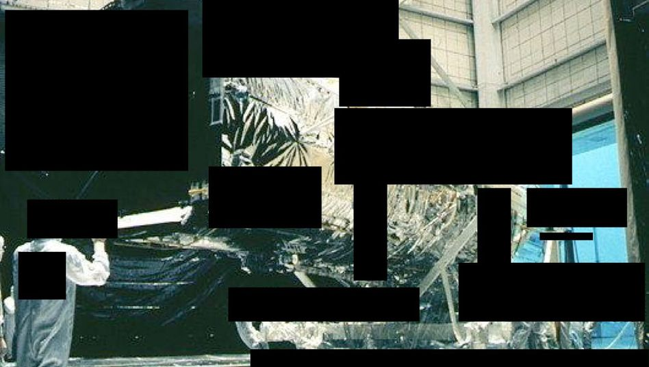 Zensiertes Foto des Spionagesatelliten: Unverhofftes Geschenk für die Nasa