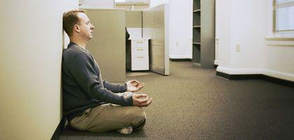 """Meditation im Büro: """"Das Gehirn altert langsamer"""""""