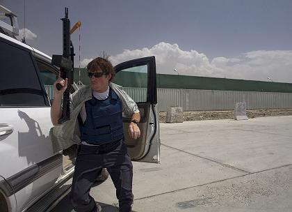 Training der britischen Sicherheitsfirma Armorgroup in Afghanistan: Bald Schluss für die Söldner?