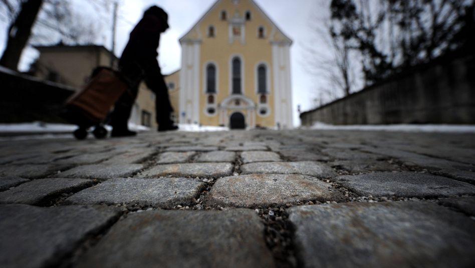 Franziskanerkirche in Bad Tölz: Hier predigte Pfarrer Peter H. seit Herbst 2008