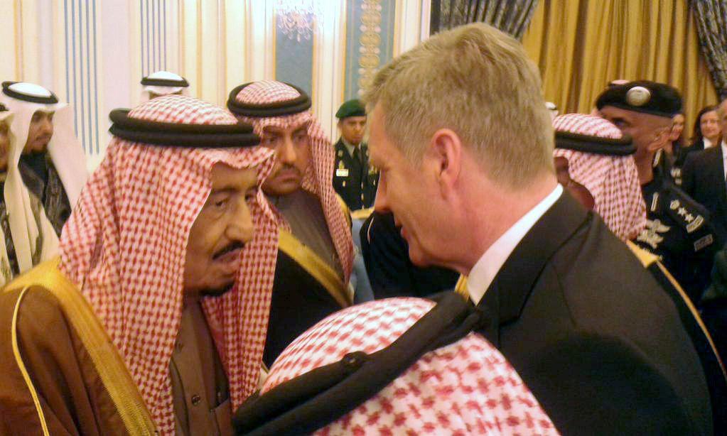 Saudi-Arabien/ Christian Wulff/ König Salman/ Kondolenzbesuch