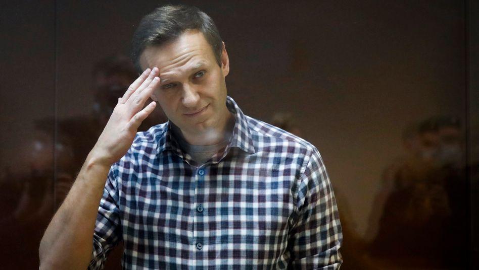Alexej Nawalny befindet sich im Hungerstreik – ein Herzstillstand droht
