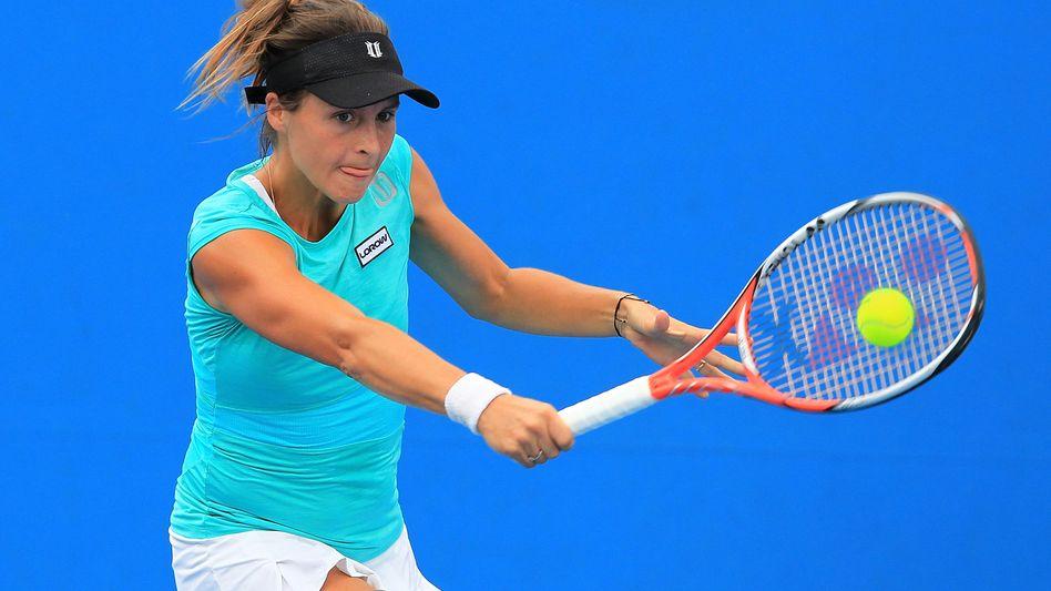 Deutsche Tennisspielerin Maria: Sieg gegen Cagla Büyükakcay aus der Türkei