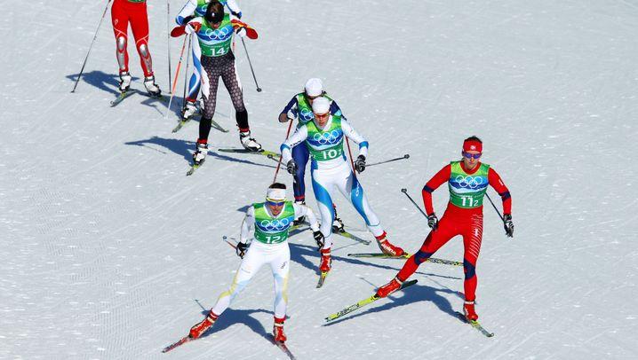 Olympische Winterspiele: Langlaufmedaillen für deutsche Teams