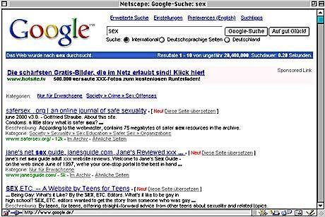 Geliebt, gelobt, geklickt: Spitzenreiter bei Google