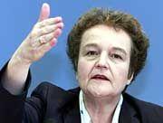 Ärger im Schwabenland: Herta Däubler-Gmelin