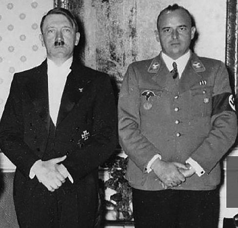 Gesichter des Bösen: Adolf Hitler und Hans Frank