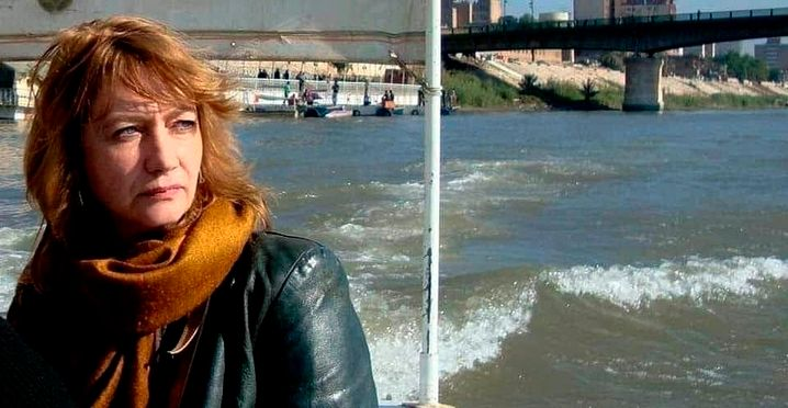 Hella Mewis: Die politischen Tumulte im Irak machten auch ihr zu schaffen.