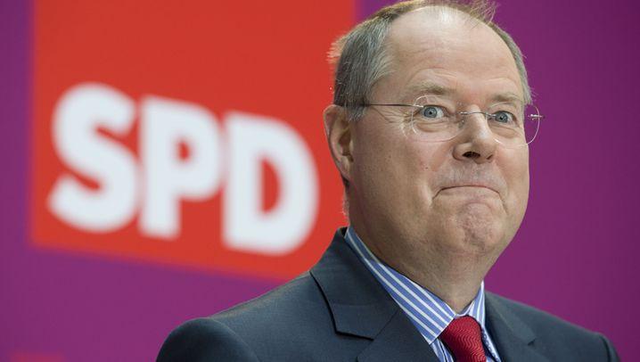SPD-Politiker Steinbrück: Die Karriere des Kandidaten