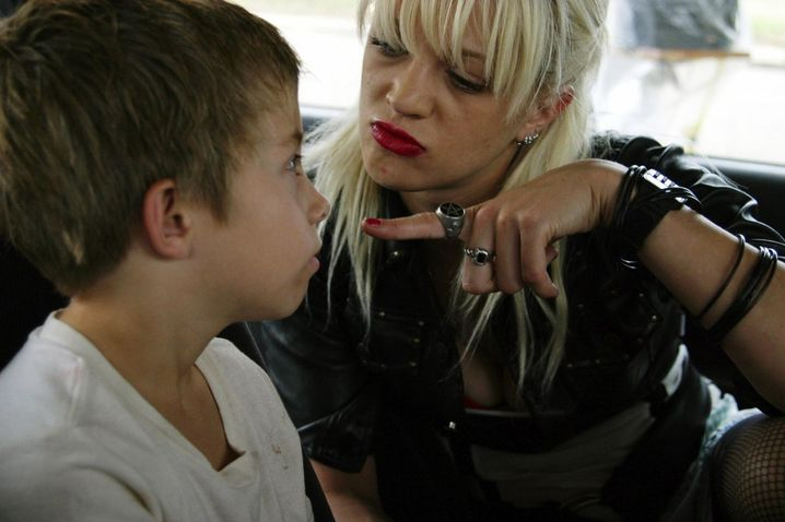 "Jimmy Bennett und Asia Argento in ""The Heart is Deceitful above All Things"""