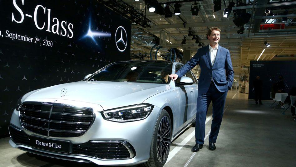 Auch das Edelmodell von Mercedes-Benz, die S-Klasse, ist von dem Massenrückruf in den USA betroffen