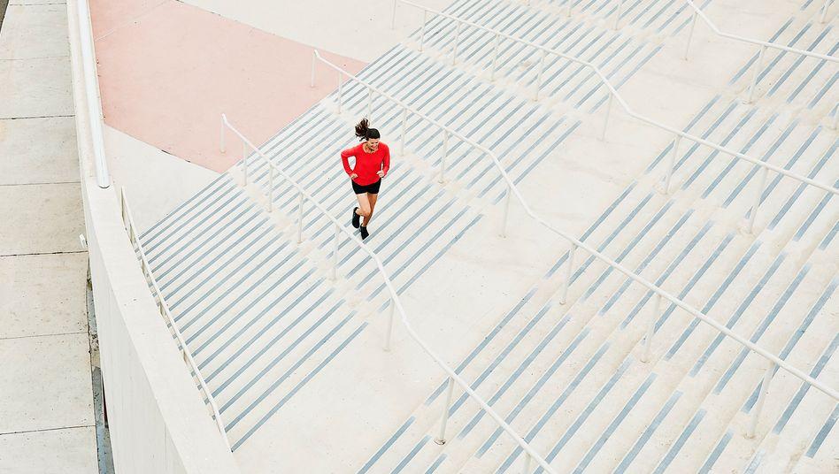 Täglich laufen gehen (Symbolfoto): Wir überschätzen uns alle
