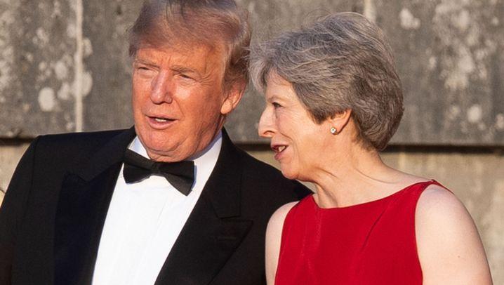 """Trump besucht May: """"Besondere Beziehung"""""""