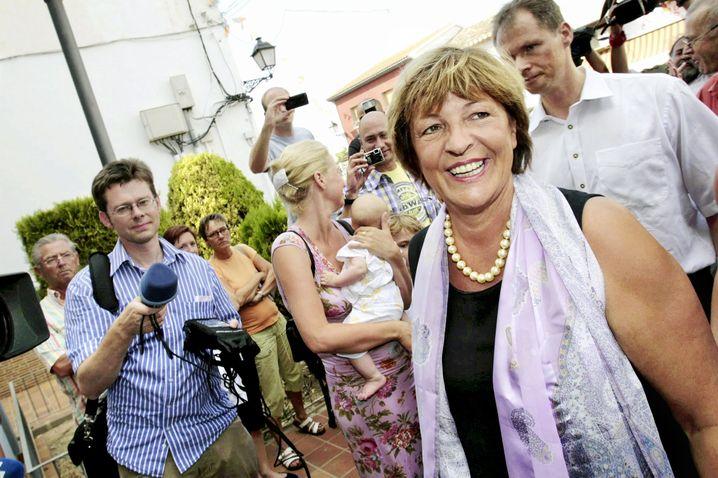Ulla Schmidt an der Costa Blanca: Gutgelaunt trotz Autoklau-Ärgers