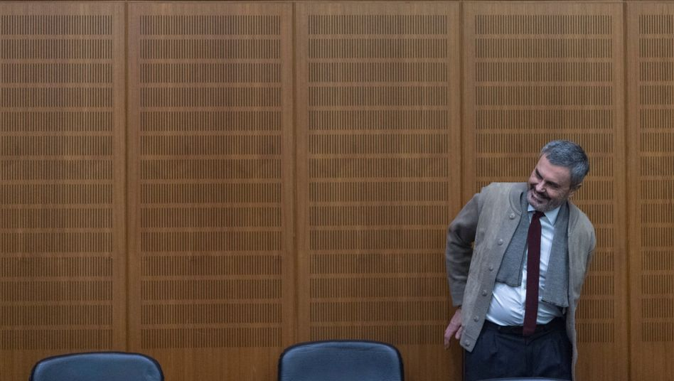 """Lasermann"" John Ausonius im Landgericht Frankfurt"