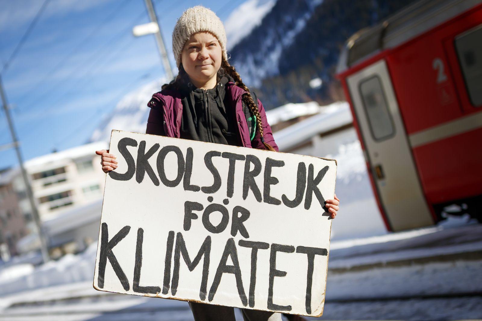 65 Stunden Fahrzeit: Klimaaktivistin reist mit dem Zug nach Davos