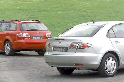 Mazda 6 Sport Kombi: Der Kofferraum schluckt bis zu 1712 Liter Gepäck