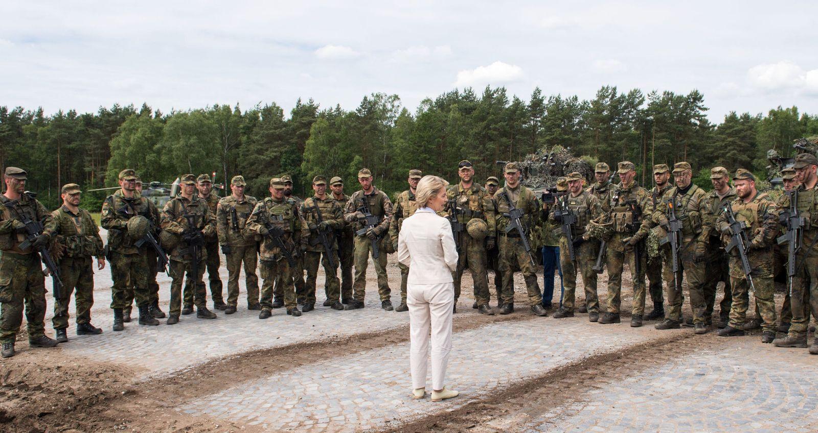 Bundeswehr/ Ursula von der Leyen