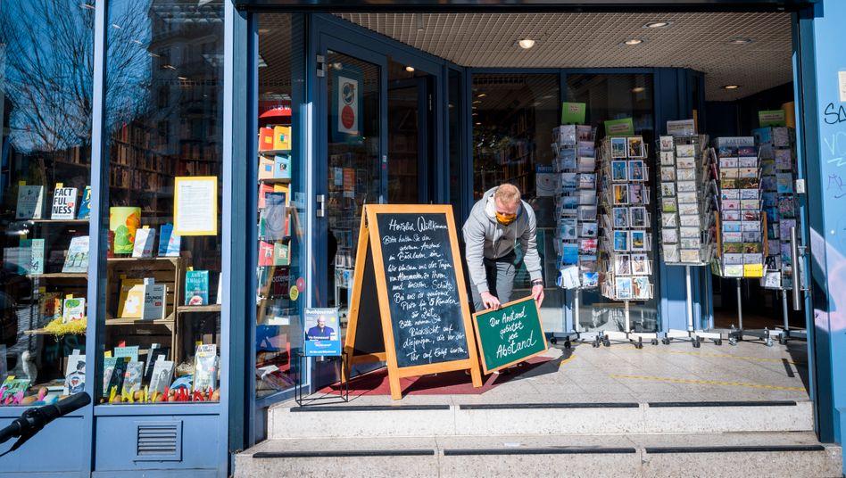 Buchhandlung Christiansen in Hamburg:Beachtliche Ergebnisse