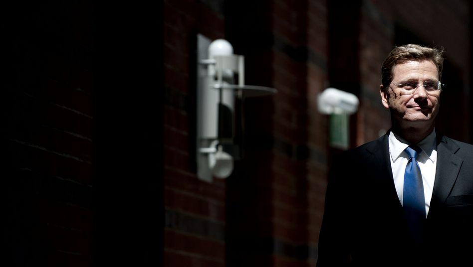 Außenminister Westerwelle: Kann er das Ministeramt retten?