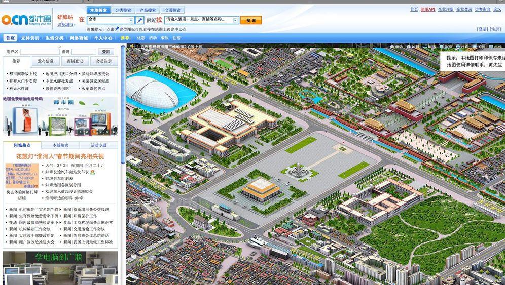 Sim-City-Stadtpläne: So sehen Chinas 3-D-Städte aus