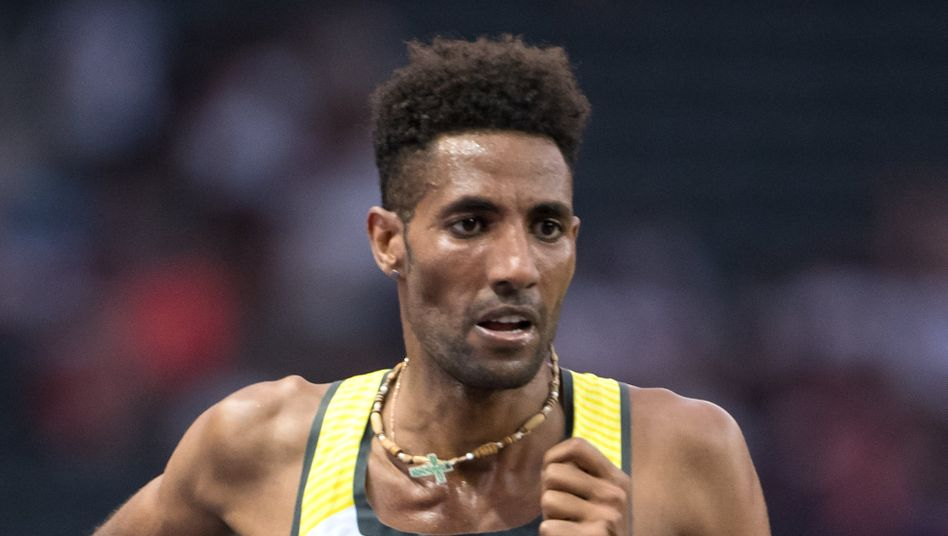 Amanal Petros bei der Leichtathletik-EM 2018