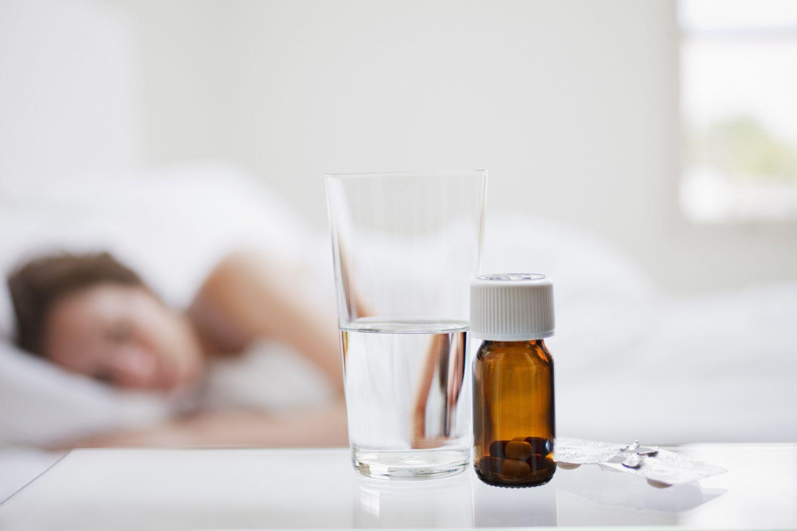 NICHT MEHR VERWENDEN! - Erkältung / Medikamente / Bett