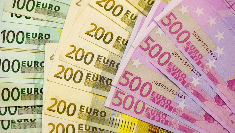 Euro-Scheine: Die Europäische Zentralbank ist nicht Eigentümerin