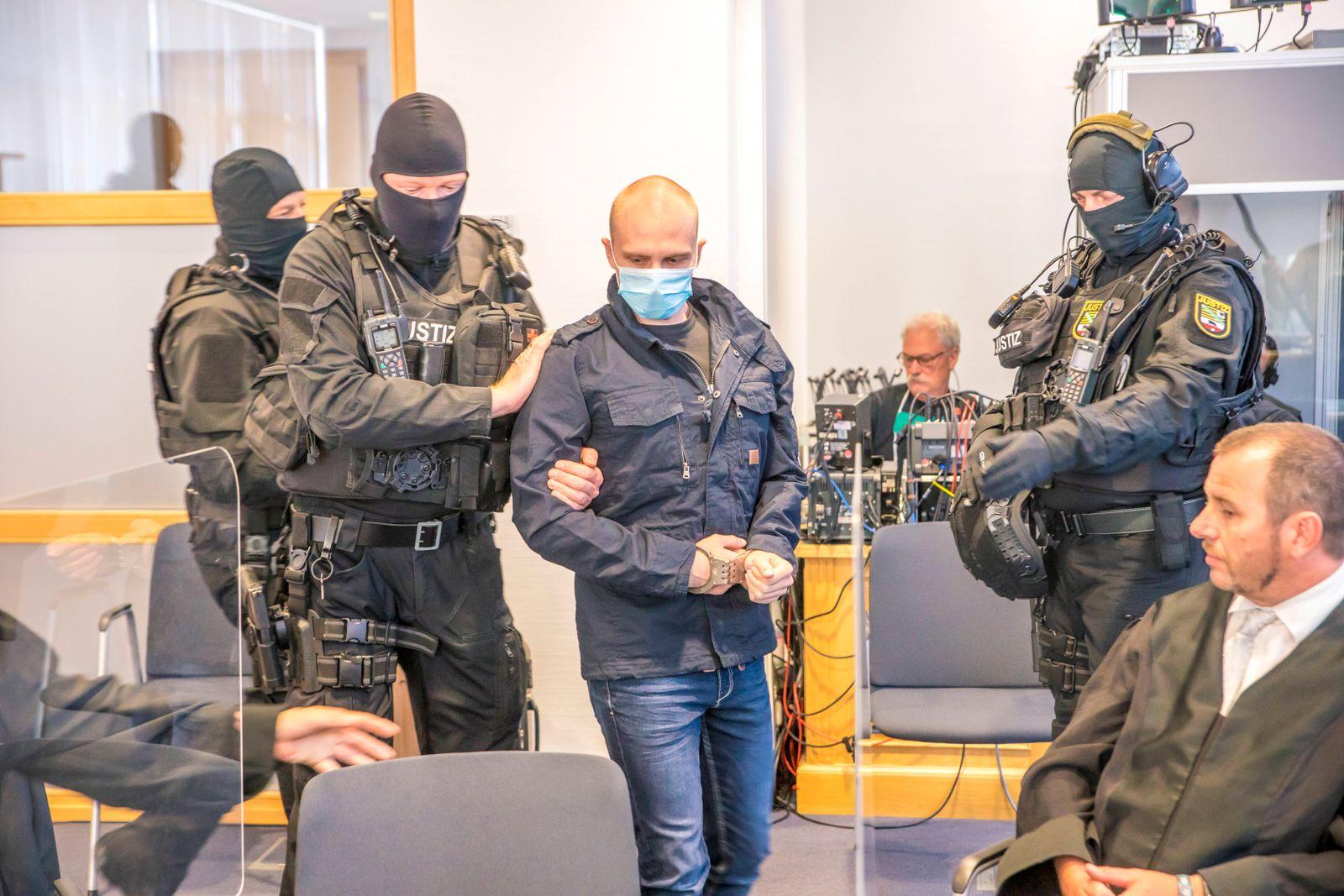 ! ACHTUNG, Prozessbeteiligte sind unkenntlich zu machen! - Am Landgericht Magdeburg begann am 21. Juli 2020 der Prozess