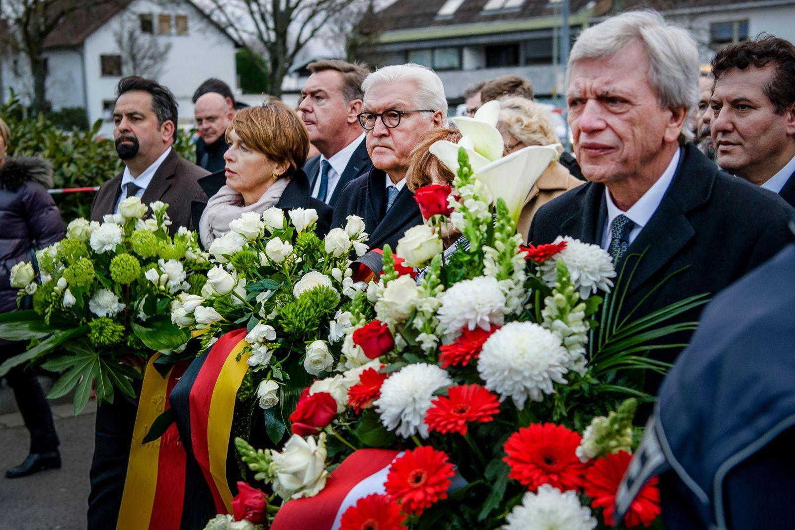 10 people killed after two shootings in Hanau, Germany - 20 Feb 2020