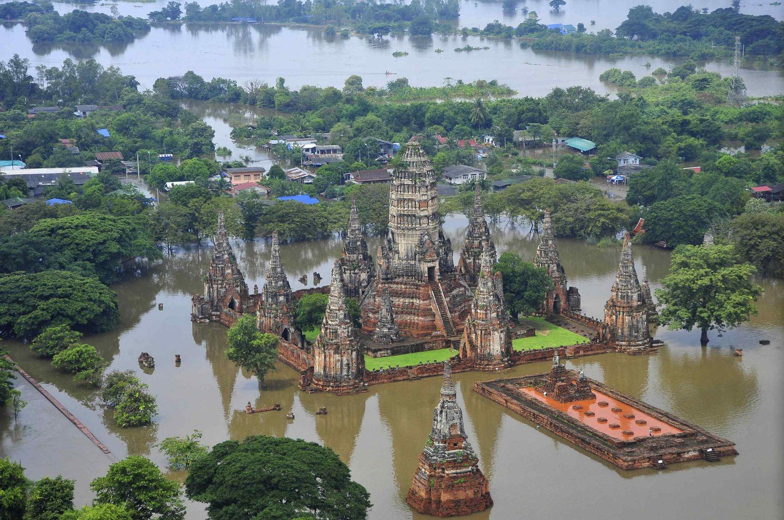 Thailand/ Überschwemmungen