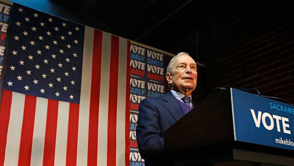 Michael Bloomberg: Seine Wahlwerbespots laufen bald wohl öfter im US-Fernsehen