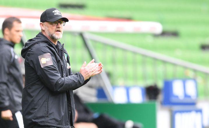 2934 Tage lagen zwischen Schaafs zwei Amtszeiten als Werder-Trainer
