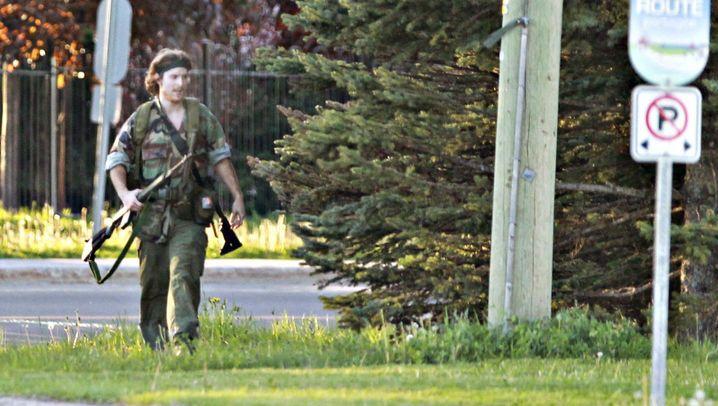 Angriff auf Polizisten: Kanadische Ermittler stellen Todesschützen
