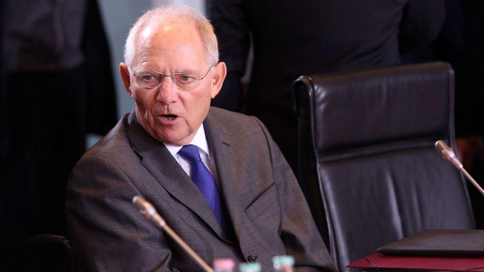 Minister Schäuble: Sicherheitspuffer schaffen