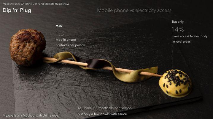 Mangelware Chilisoße: Mobiltelefone gibt es viele in Mali - aber wenig Strom
