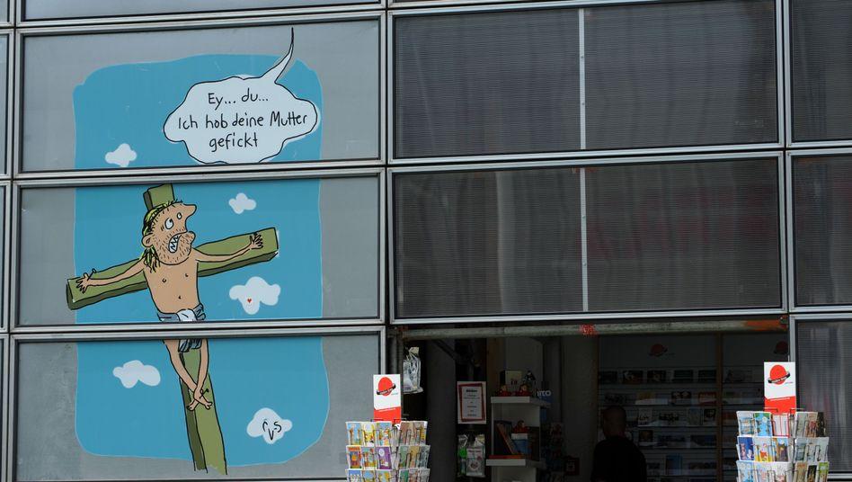 Umstrittene Jesus-Karikatur von Mario Lars: Jetzt wurde der Künstler angezeigt