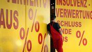 Zahl der Firmenpleiten fällt auf Rekordtief