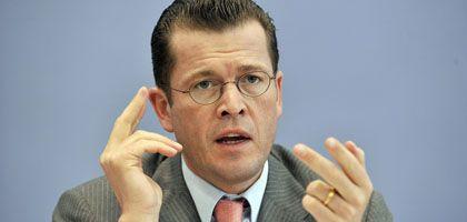 """Bundeswirtschaftsminister Guttenberg: """"Keine zeitlichen Vorgaben"""""""