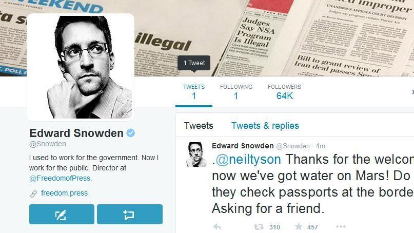 snowden twitter screenshot