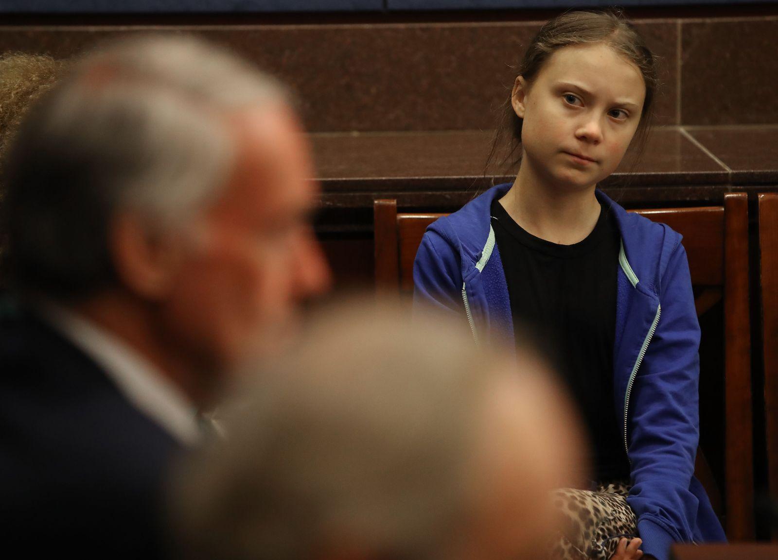Greta Thunberg Senat