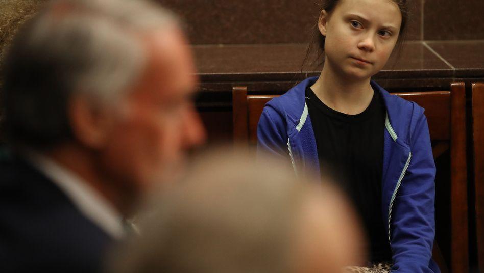 """Greta Thunberg In Washington: """"Wir wollen nicht gehört werden. Wir wollen, dass die Wissenschaft gehört wird"""""""