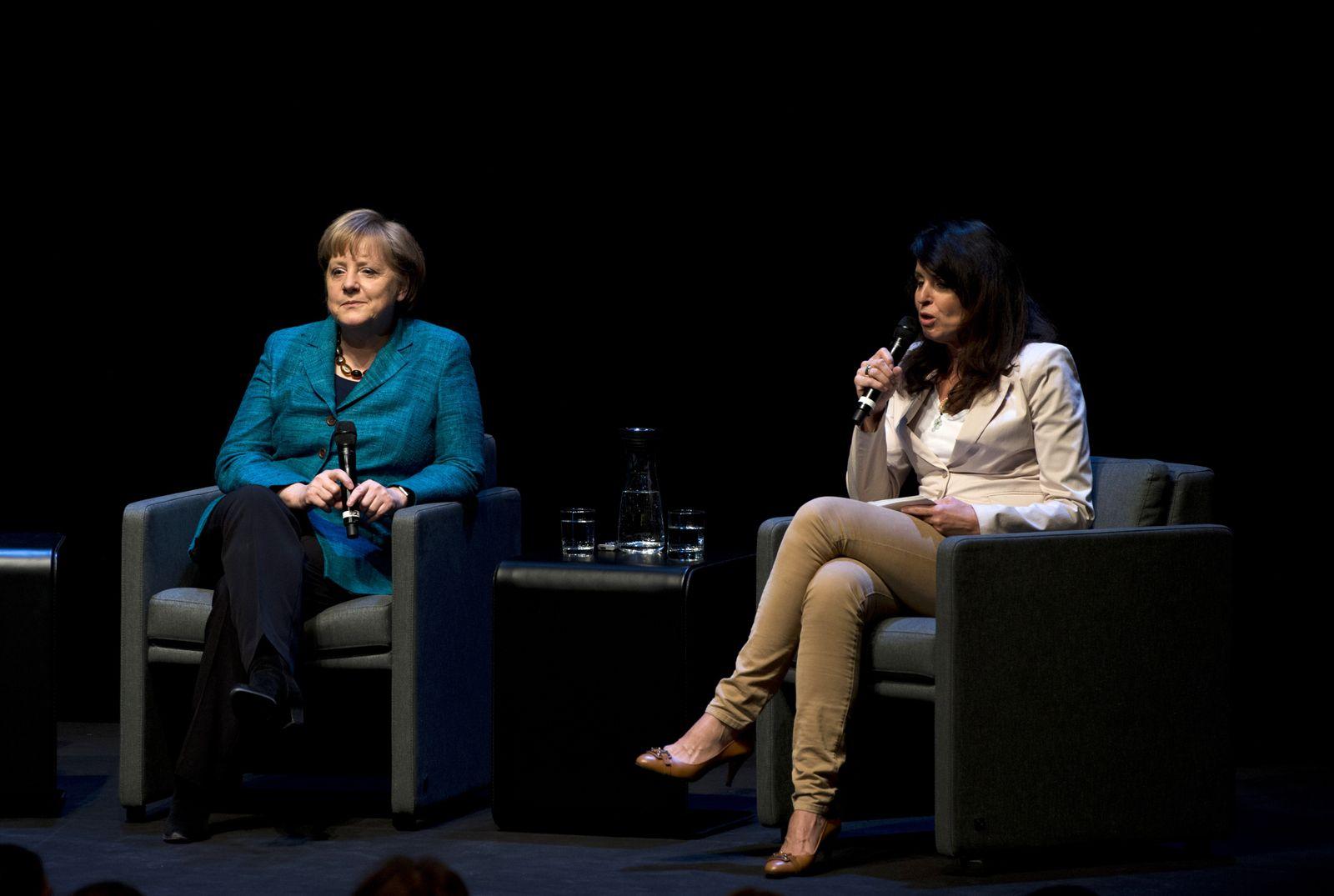 Merkel bei Brigitte