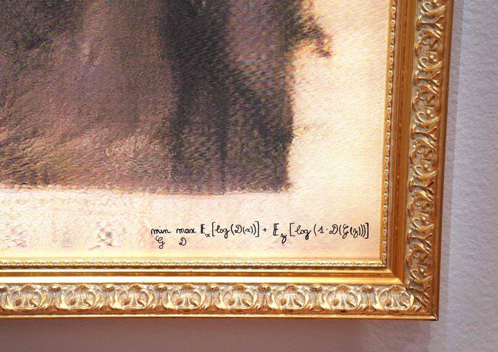 "Urheberfrage: Kollektiv Obvious oder Algorithmus ""min G max D Ex[log(D(x))]+Ez[log(1-D(G(z)))]""?"