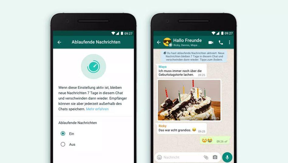 Noch im November soll die Funktion für WhatsApp überall verfügbar sein