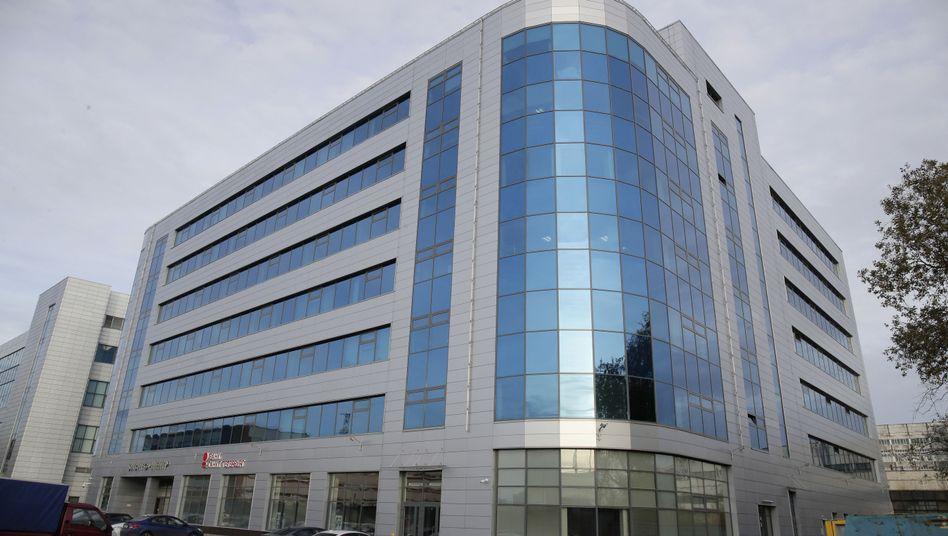 In diesem Gebäude in St. Petersburg soll die Internet Research Agency arbeiten.